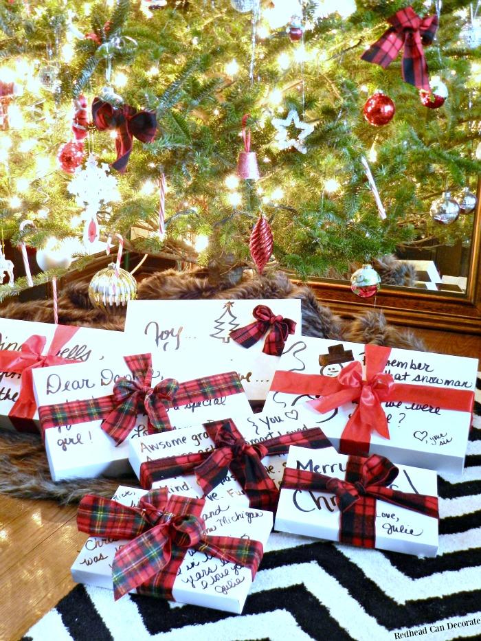 Easy DIY Gift Wrap