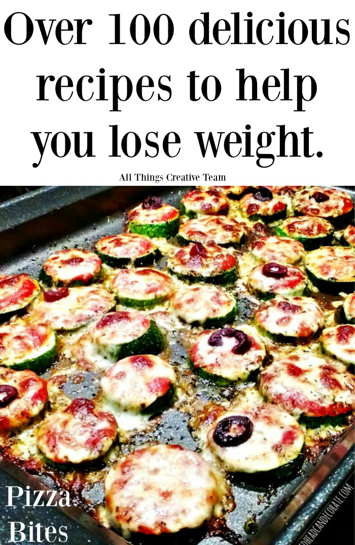 Over 100 delicious recipes that will help you lose weight.