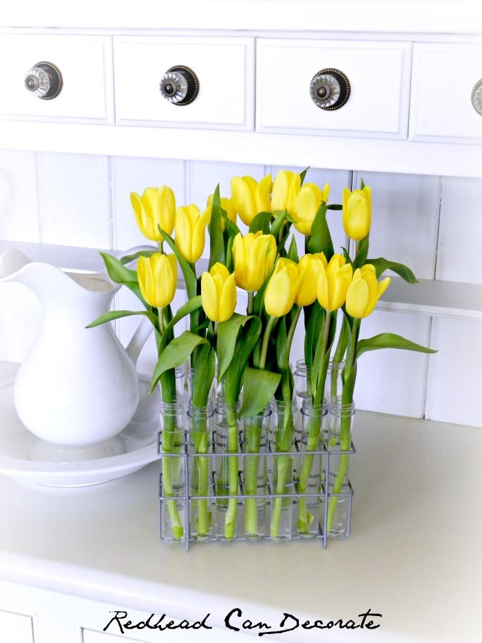 Spice Rack Turned Flower Vase