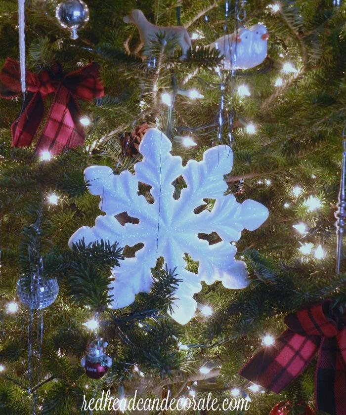 White Sparkle Snowflake