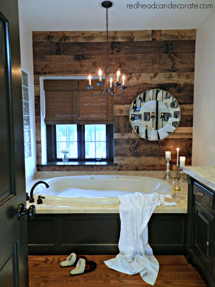 DIY Planked Wall