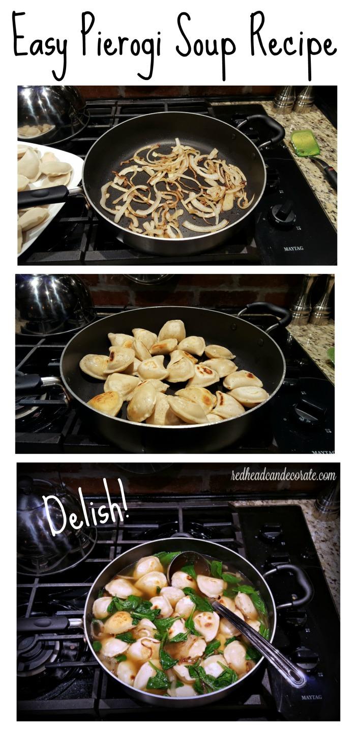 Easy Pierogi Soup REcipe