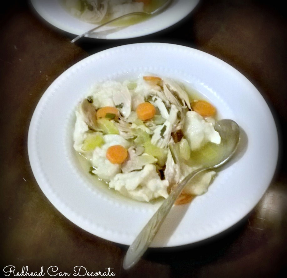 Mom's Chicken Noodle Soup Homemade
