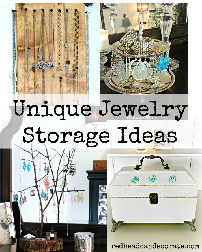 diy rustic jewelry display