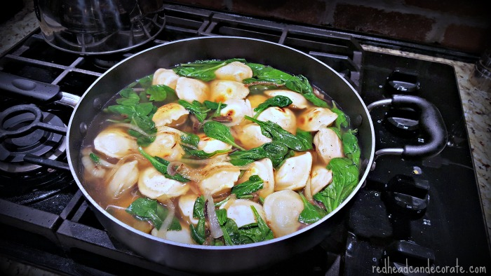 Yummy Pierogi Soup