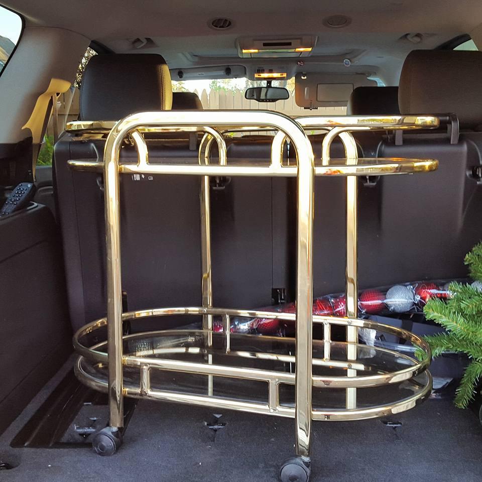 Brass Cart