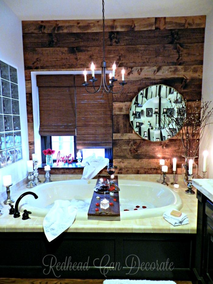 Romantic Bathroom romantic bathroom date - redhead can decorate