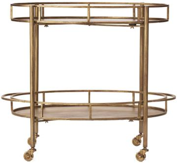 gold cart home decorators