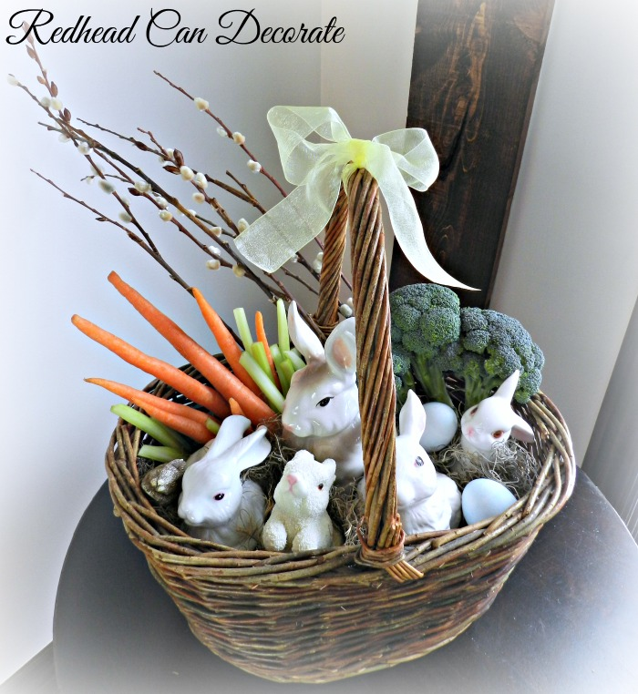 Bunny Easter Basket