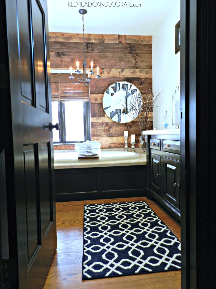 Master Bathroom Tour At The Picket Fence