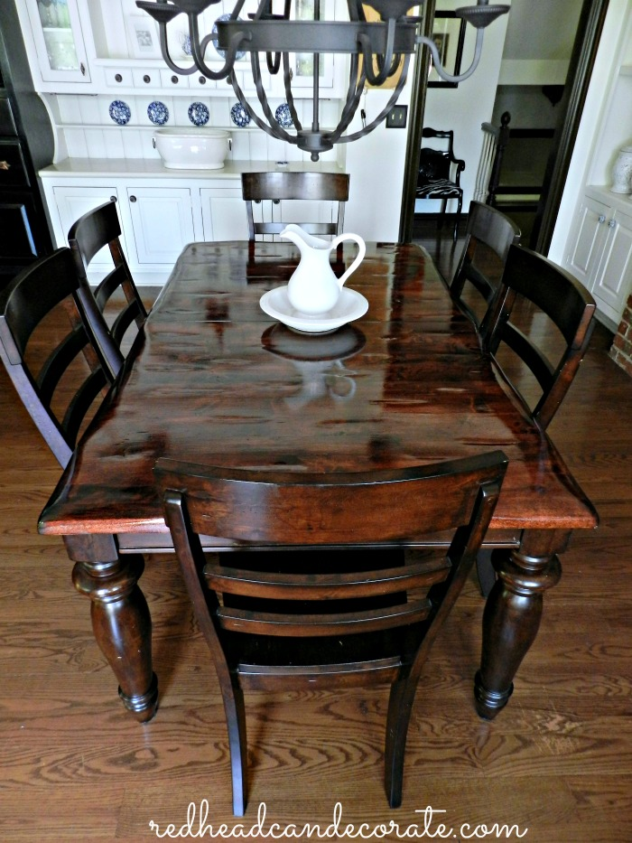 Beautiful Refinished Table