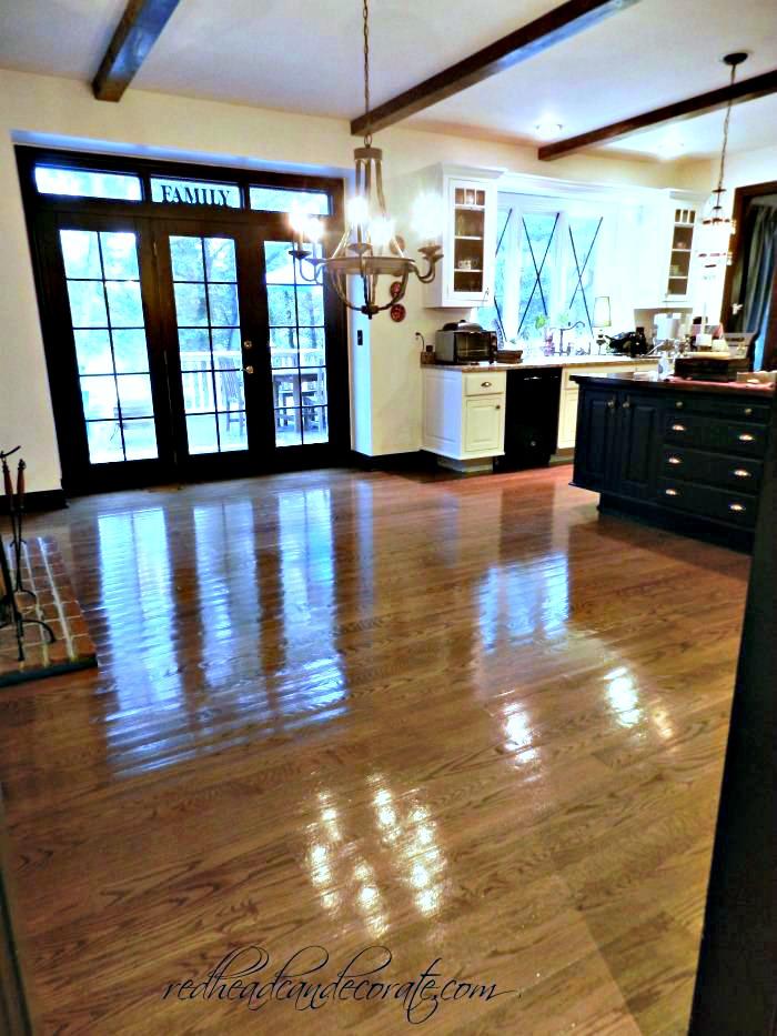 DIY Housewives Floor Refinishing