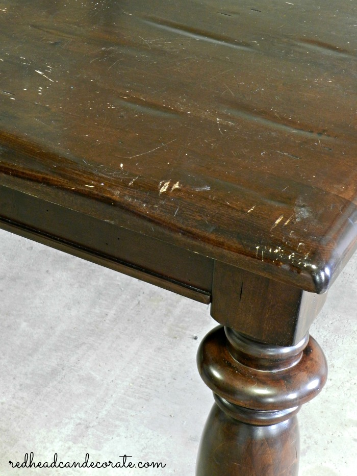 Refinish your table!