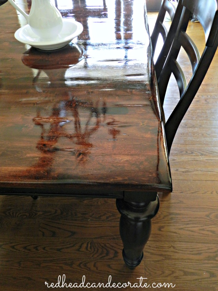 Refinishing a Table Tutorial