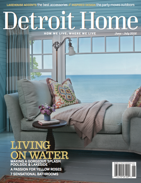 Detroit Home Magazine Cover