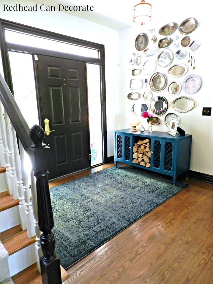 What Size Should Foyer Rug Be : New kitchen runner foyer area rug redhead can decorate
