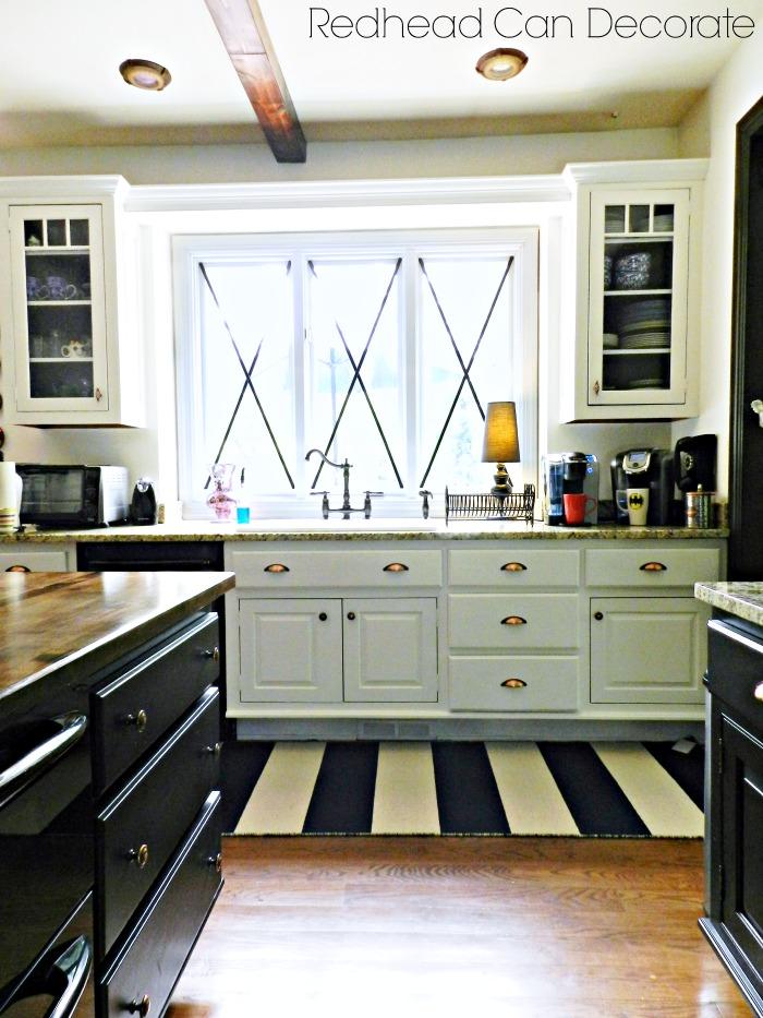 Kitchen Windows & Rug