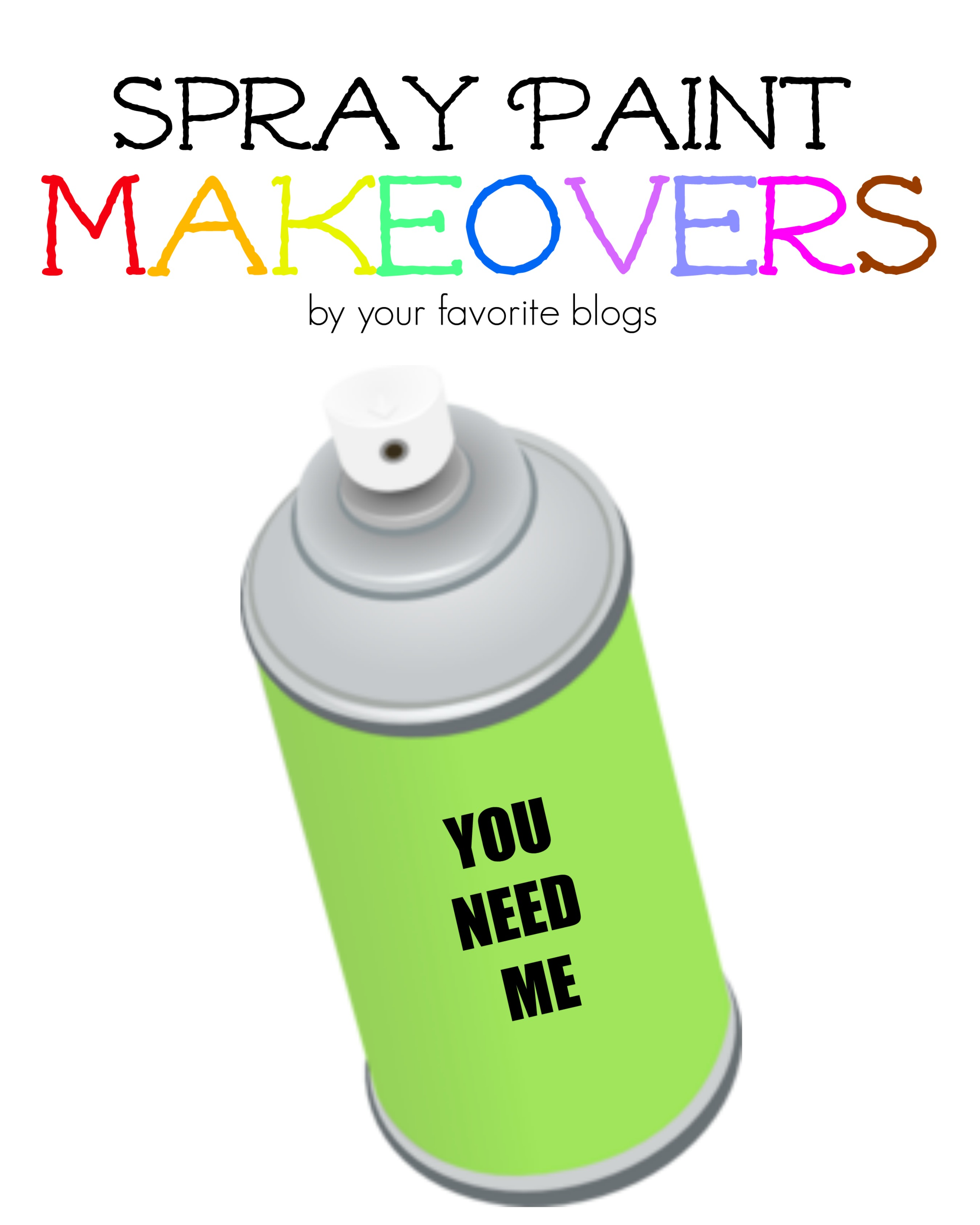 Spray Paint Makeovers