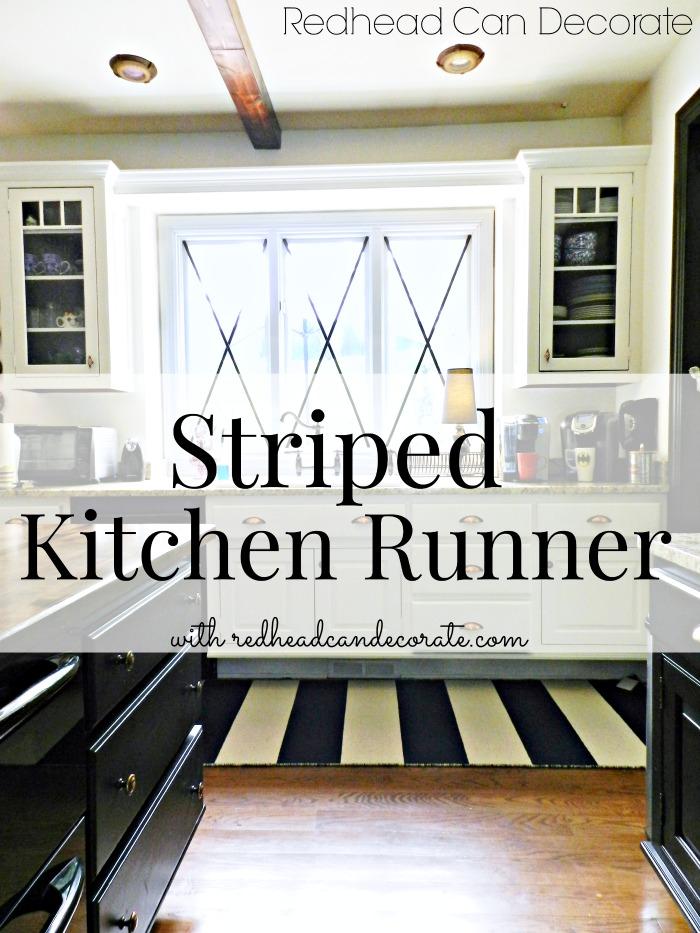 Striped Kitchen Runner