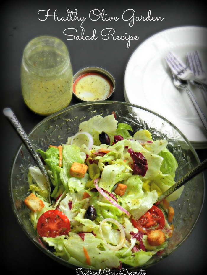 This healthy Olive Garden salad recipe is the best salad I ever ate! Here's several Healthy Recipes to Help Lose Weight...