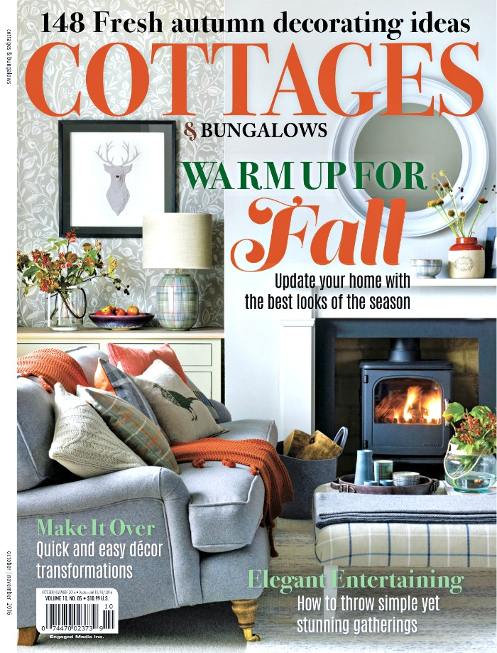 Cottages & Bungalows Cover Fall 2016