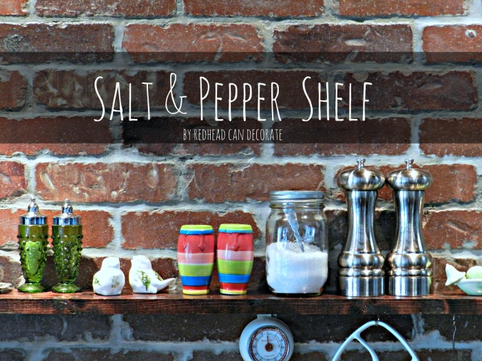 Salt & Pepper Shelf
