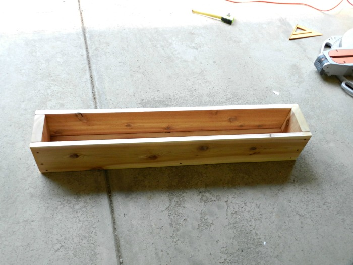 Wood Window Flower Box
