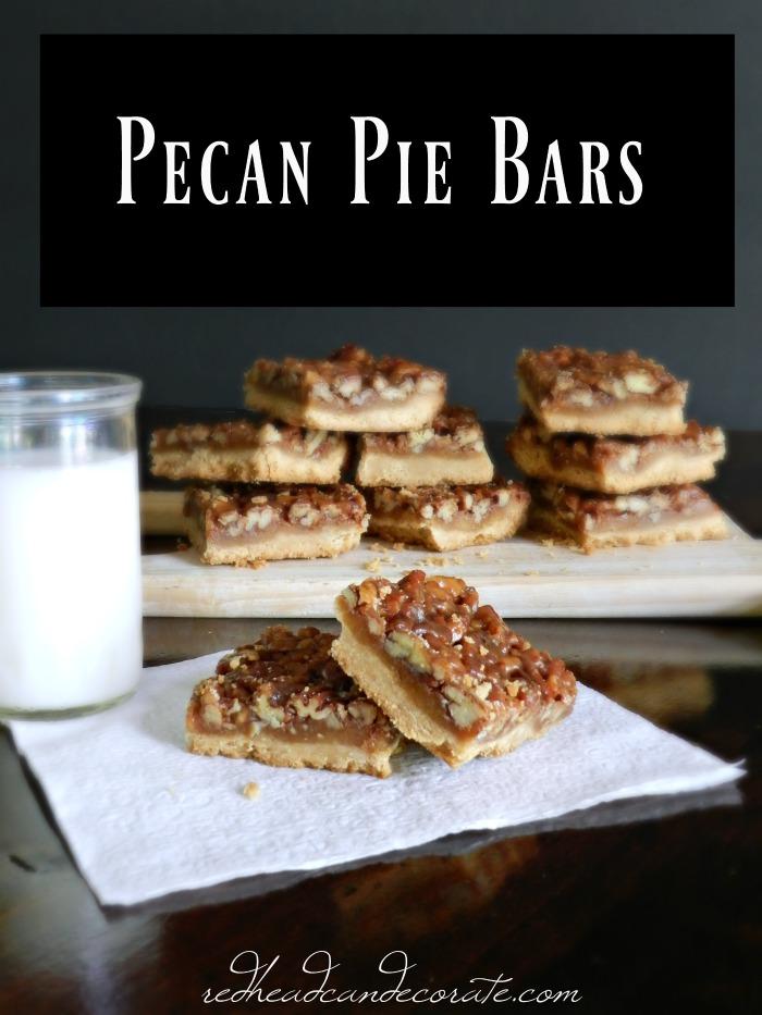 Pecan Pie Bars