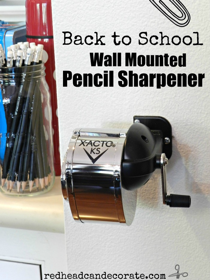 Wall Mounted Pencil Sharpener
