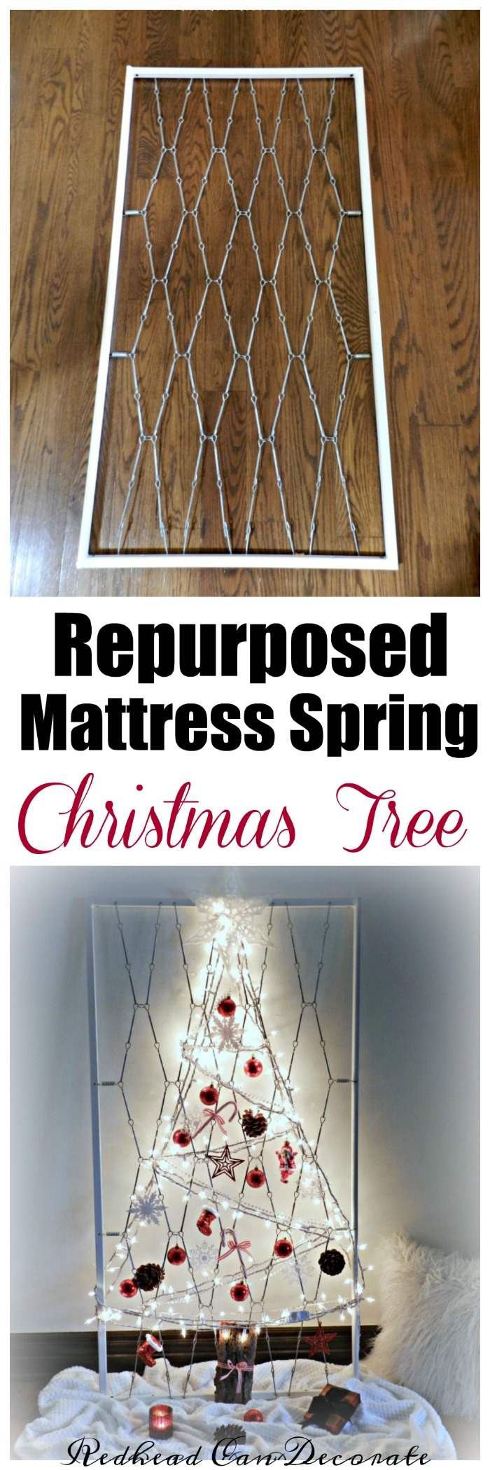 repurposed-crib-mattress-spring-christmas-tree