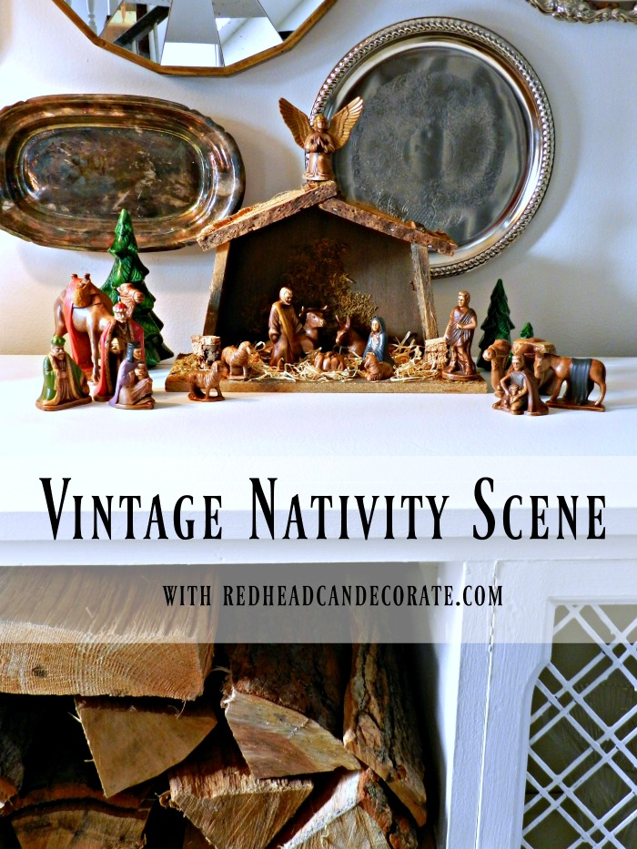 Beautiful Vintage Nativity Scene