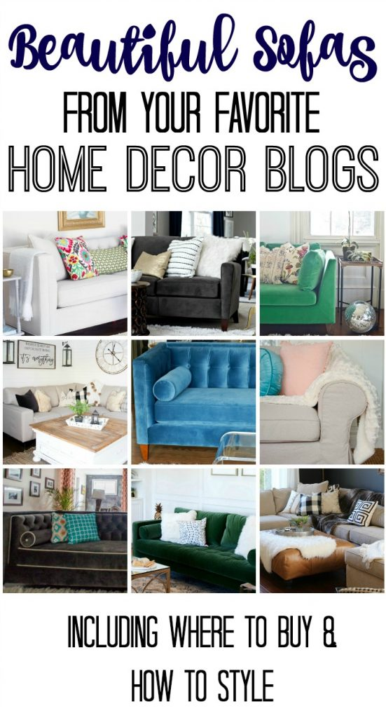 Check out these beautiful sofas from blog land!