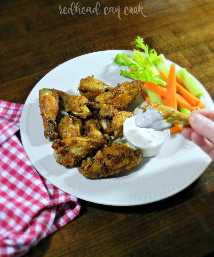 This delicious wing recipe is easy with no mess! The chef is from Buffalo so she knows her wings.