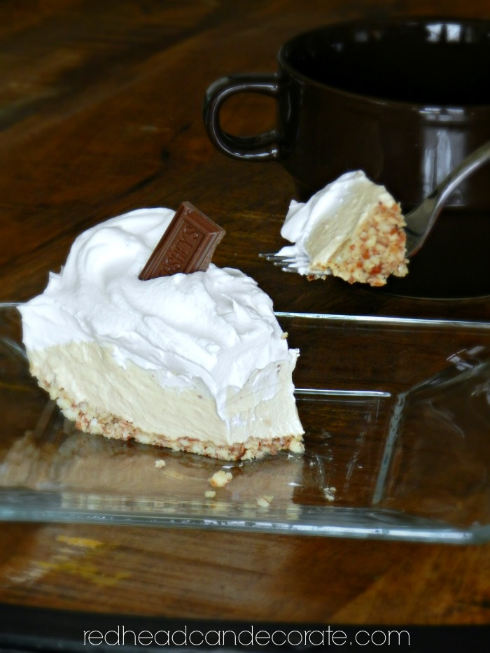 I just made this cheesecake last night. It tastes a lot like a Reeses Peanut Butter Cup. It's still low carb!