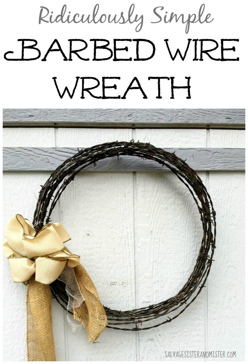Repurposed Wreath Ideas