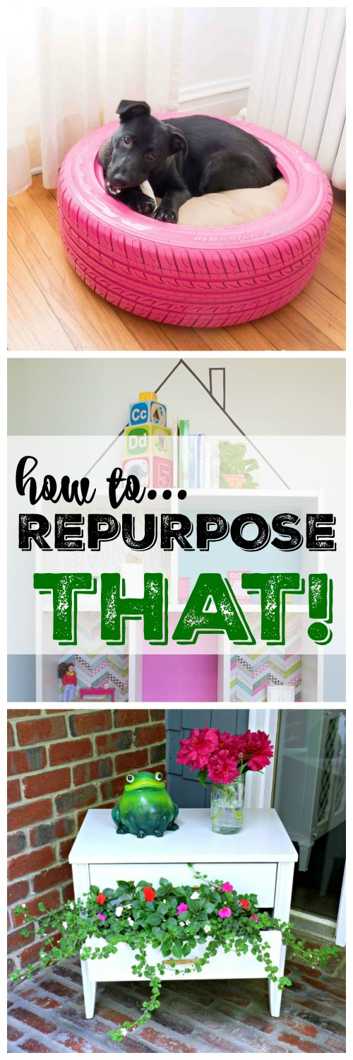 """These are the cutest """"Top 8 Repurposed Projects"""" in blog land and you won't want to miss them!"""