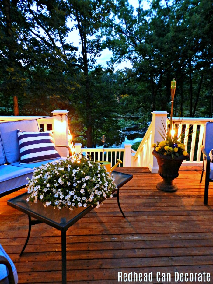 "Hang vintage style string lights on your deck, porch, or patio and enter to win a free set at ""Vintage Style Outdoor String Lights & Giveaway""."