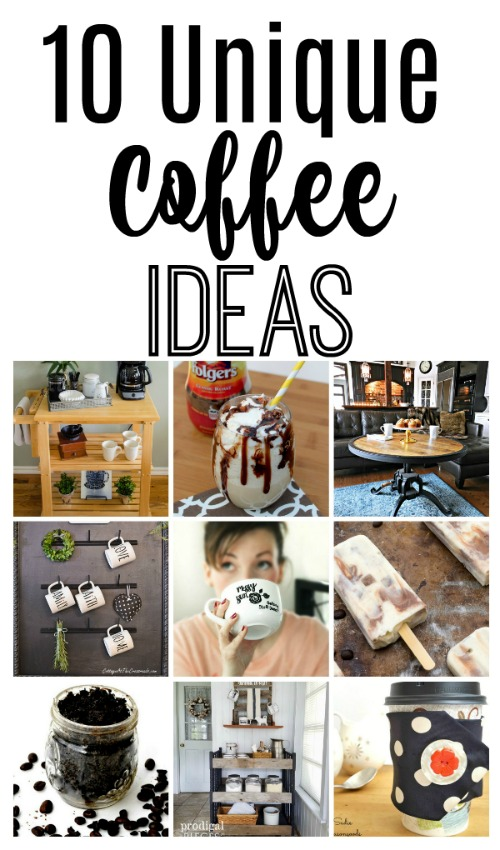 10 unique coffee ideas that you will want to try!