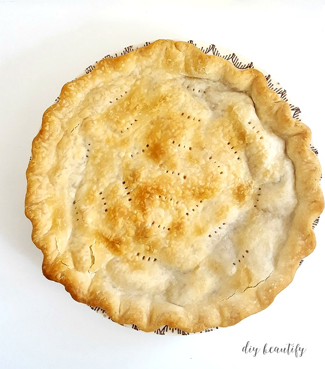 7 homemade pie recipes at the picket fence for Apple pie decoration