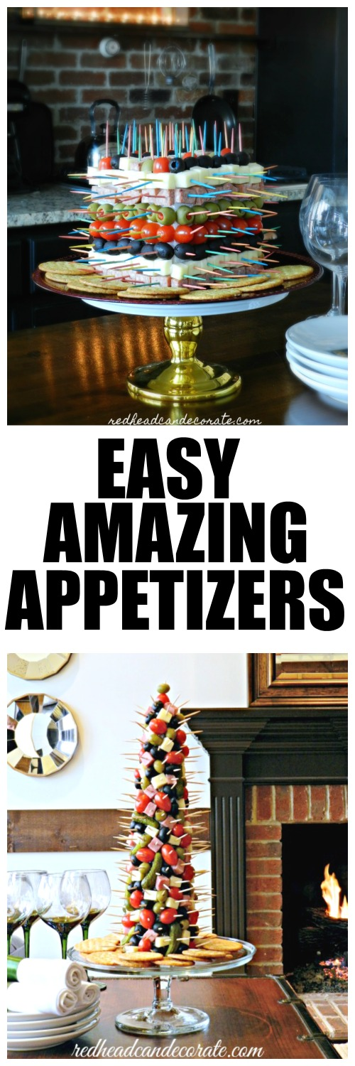 Amazing appetizers anyone can make!!