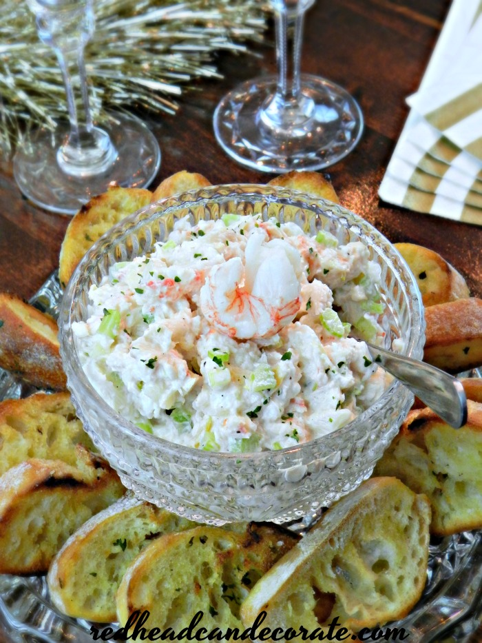 Lobster Salad Appetizer Toasts