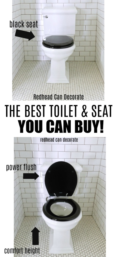 This beautiful toilet is the best toilet I ever used. The flush is powerful, the height is comfortable, and choosing a black seat is so cool!