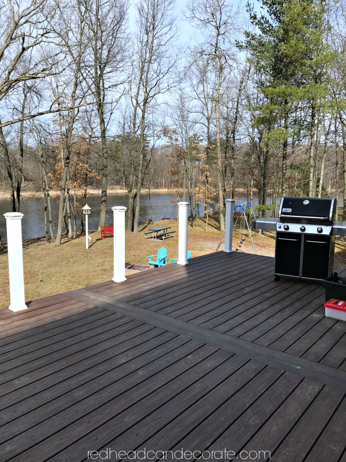 "This Michigan couple made the switch from a wood deck to a composite deck and they give all the details in the article ""Our New Trex Composite Deck"" including some great tips on things they wish they knew."