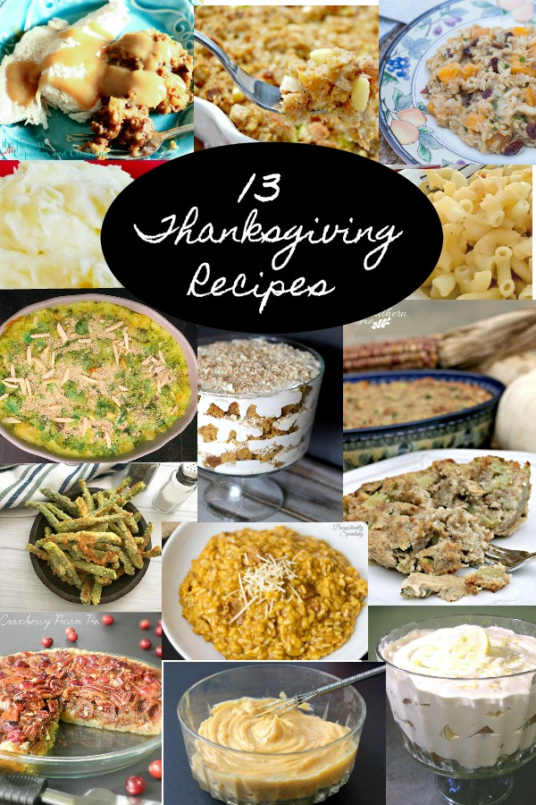 13 Thanksgiving recipes, plus this truly amazing Cranberry Pecan Pie with 10 Minute No Mess Pie Crust Recipe and the crust can be used with any 1 crust pie!