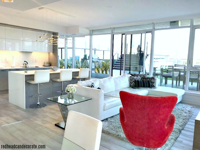 This Modern Minimalistic Condo with a Private Terrace/View is the perfect destination for your next family vacation or romantic get away.