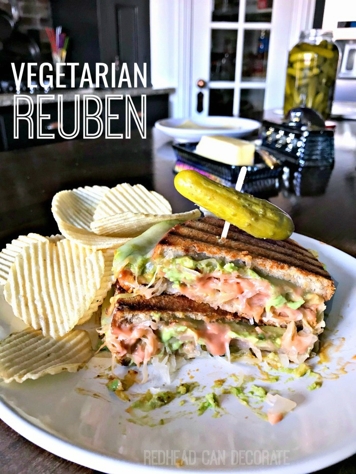 Vegetarian Reuben