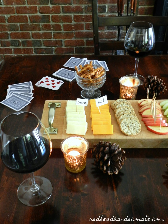 Butcher Block Cheese Board Giveaway