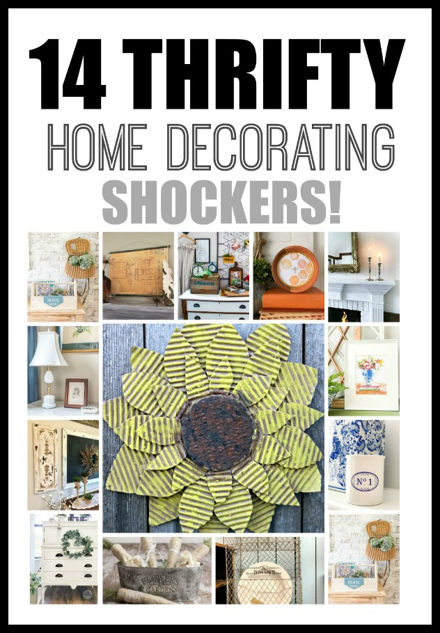 14 Thrifty Home Decorating Shockers