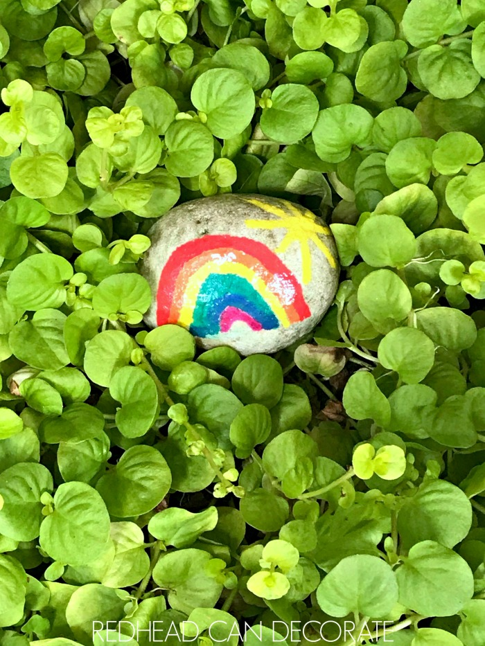 These DIY Rainbow Rocks are so simple to make and require no crafting skills!