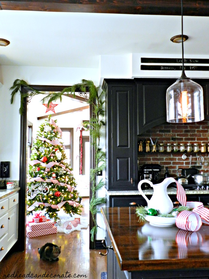 25 Affordable Thrifty DIY Christmas Decorating Ideas that will inspire you to use what you have and save money!